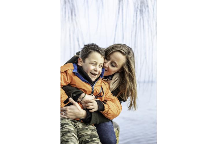 Nadine Berner ist stolz auf ihren Sohn Lionel.