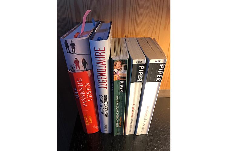 Viel gelesen, heiss geliebt: Remo Largos Bücher