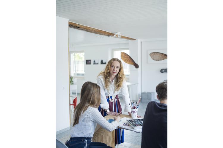 Barbora Gerny: «Ich bin stolz auf das Engagement meiner Kinder».