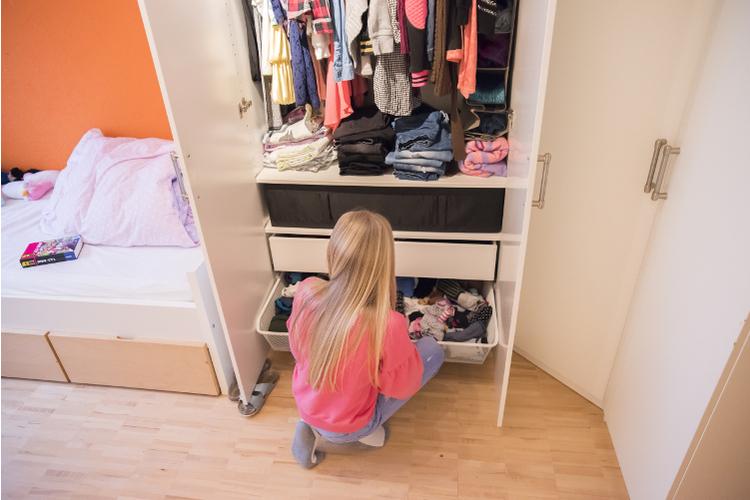 Als Kind liebte es Lea, Röckchen zu tragen. Heute bevorzugt sie Jeans.