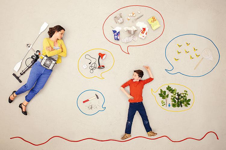 Der Alltag von erwebstätigen Eltern ist ein andauernder Ausnahmezustand.