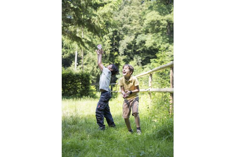 1/3 Spielen ist die beste Fördermassnahme, weil Kinder dabei fast immer Spass empfinden.