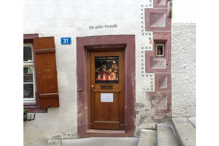 Kurios: Das kleine Hoosesagg-Museum in Basel