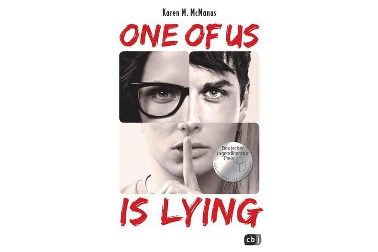Karen McManus: One of us is lying. , cbt, 2018. 448 Seiten. ca 30 Fr.