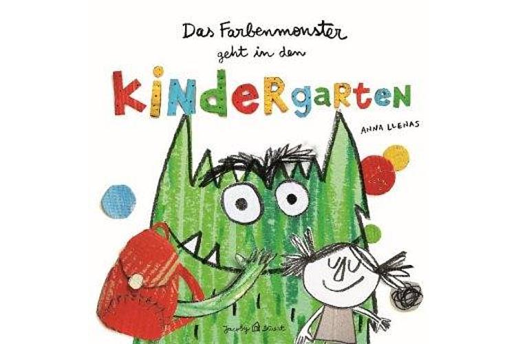 Anna Llenas: Das Farbenmonster geht in den Kindergarten. Jacoby & Stuart 2019, ca. 20 Fr.Das Buch mit dem liebenswerten Farbenmonster ist perfekt zum Anschauen mit frischgebackenen Kindergartenkindern.