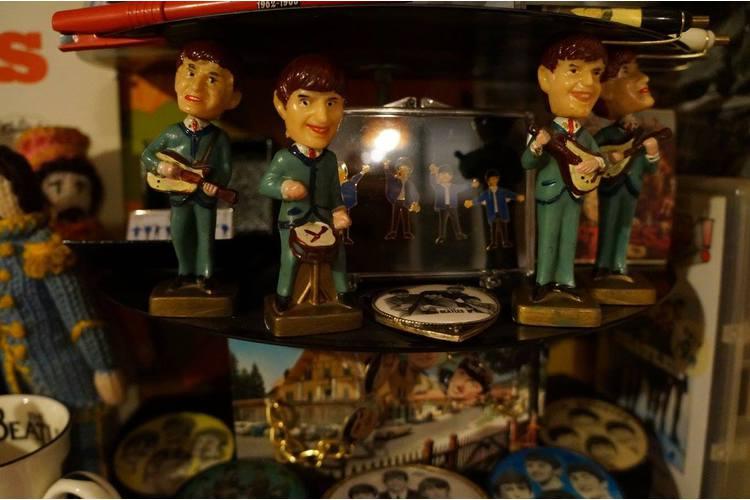 6 / 6 Im Hoosesagg-Museum in Basel schrumpfen auch Musik-Giganten auf Miniatur-Grösse.
