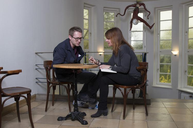 Fritz+Fränzi- Autorin Claudia Landolt in Hamburg im Gespräch mit Jan Weiler.