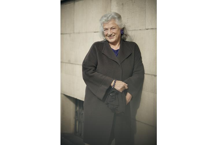 Ellen Ringier im Porträt.