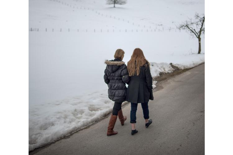 Auf einem guten Weg: Karin Danner hat Viola jede Woche in Littenheid besucht.