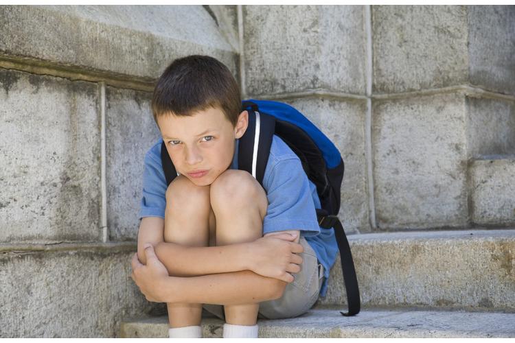 Jedes zweite Kind empfindet die Schule gelegentlich als bedrohlich. Akute Schulangst betrifft aber nur etwa 10 Prozent aller Kinder.Bild: iStockphoto