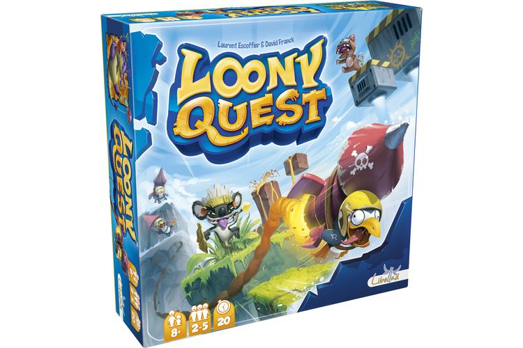 Für Fans von ComputerweltenLoony QuestDas haben die Macher von «Loony Quest» bei Computerspielen abgeguckt: Wie dort, muss man sich durch die Level von sieben Fantasy-Welten kämpfen, aber nicht mit Joystick oder Maus, sondern mit durchsichtiger Folie und Stift. «Loony Quest» ist ein Malspiel, bei dem man aber gar nicht Malen können muss. Sondern es geht darum, aus der Ferne die Objekte eines Bildes nur durch vergleichendes Schauen möglichst genau zu treffen. Dazu wird ein quadratischer Spielplan mit der Vorlage eines Dungeons oder einer Landschaft in der Mitte in die Schachtel gelegt. Jeder Spieler muss daraufhin an seinem Platz auf einer Folie mit einem Stift Wege an Hindernissen und feindlichen Kreaturen vorbei einzeichnen oder Objekte markieren. Danach wird jede Folie deckungsgleich auf den Spielplan gelegt, verglichen und es kommt zur Punkteabrechnung.«Loony Quest» von Laurent Excoffier und David FranckMalspiel für 2 bis 5 Spieler ab 8 JahrenSpielzeit: etwa 20 MinutenPreis: Fr. 33.90 Libelludwww.asmodee.com