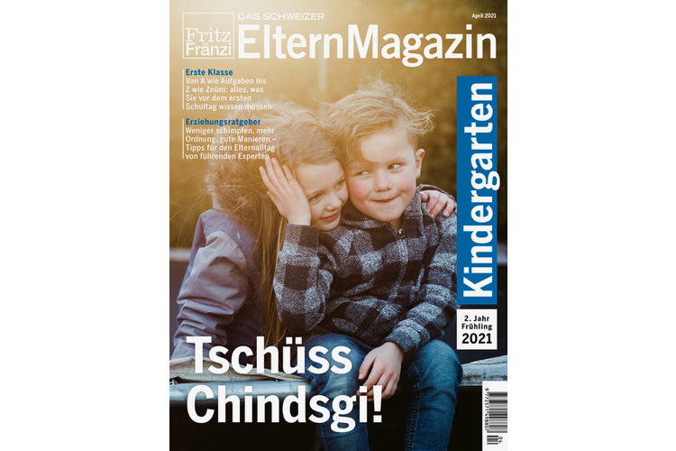 Dieser Artikel stammt auch aus dem «Kindergartenheft 2. Jahr/Frühling» mit dem Titel «Tschüss Chindsgi» und wendet sich an Eltern von Kindergartenkindern der zweiten Klasse. Bestellen Sie jetzt eine Einzelausgabe!