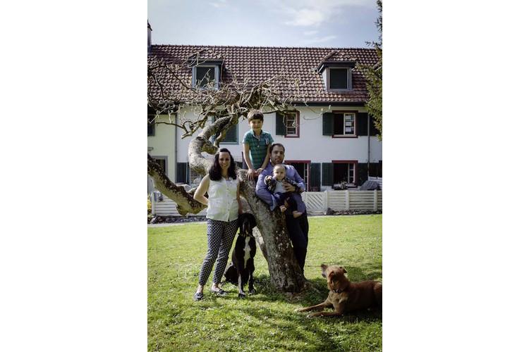 Die Patchwork-Familie Chantal Portenier/Fausto Cartillone in Uitikon ZH