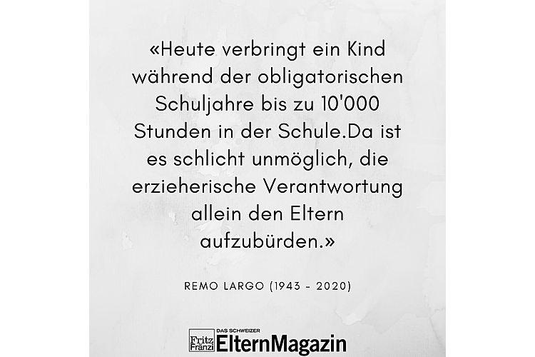Aus: Remo H. Largo, Monika Czernin: Jugendjahre. Kinder durch die Pubertät begleiten. Piper Verlag München 2011, S. 318