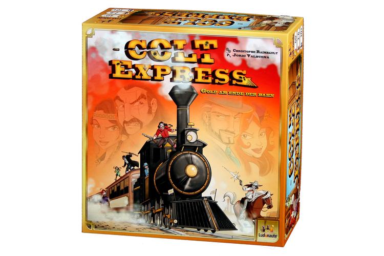 Für Comic- und Western-FansColt ExpressDie Spielidee zu «Colt Express» kam Spieleautor Christophe Raimbault bei der Lektüre von Lucky-Luke-Comics. Nicht nur die Grafik des «Spiels des Jahres 2015» ist im typischen französischen Comic-Stil gehalten, die Spielatmosphäre imitiert tatsächlich den Slapstick einer Westernparodie. Gespielt wird auf einem dreidimensionalen Zug, der vor der ersten Partie zusammengesteckt werden muss. Jeder Spieler bekommt einen Charakter mit einer Sonderfähigkeit und versucht, den Zug zu überfallen und dabei am meisten Beute zu machen. Die Spieler «programmieren» mit ihren Spielkarten den Ablauf zunächst wie in einem Drehbuch: Karten, die das Bewegen, Klettern, Schiessen oder Prügeln erlauben, werden verdeckt oder offen auf einem Stapel abgelegt. Erst nach einer Runde wird der Stapel umgedreht und Karte für Karte mit den Figuren eins zu eins auf dem Zug ausgewertet. Das sorgt für Chaos und witzige Überraschungen.«Colt Express» von Christoph RaimbaultBrettspiel für 2 bis 6 Spieler ab 10 JahrenSpielzeit: etwa 40 MinutenPreis: Fr. 39.90 Ludonautewww.asmodee.com