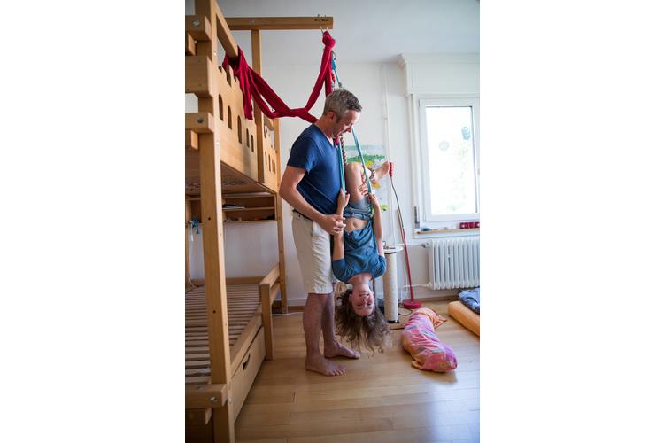 «Wir möchten selbständige Kinder grossziehen, die irgendwann ihre eigenen Entscheidungen treffen», sagt Andreas Abegg.