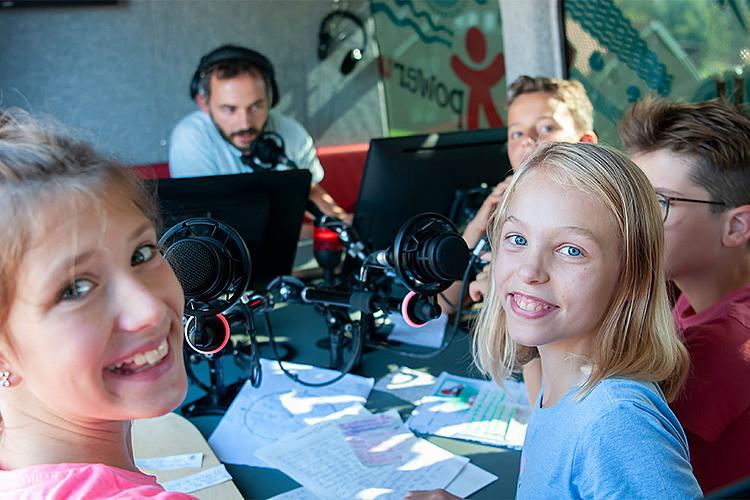 Eine Radiosendung produzieren macht Spass!