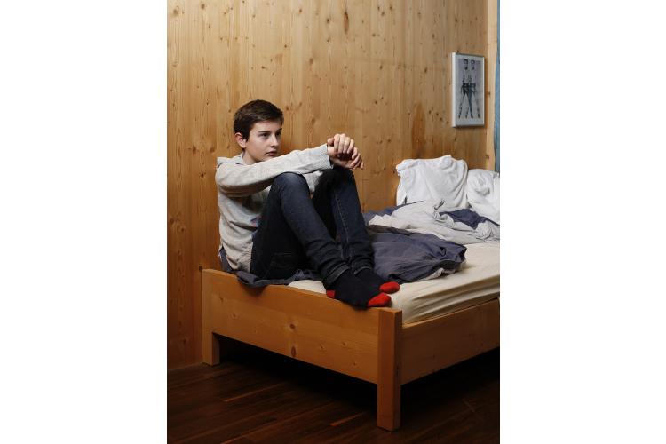 Um sechs Uhr in der Früh schon fit: Leon (11) ist eine typische Lerche. Ein Morgenkind.