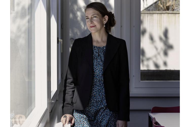 Die Therapeutin Irina Kammerer hilft Familien in Trennungssituationen.