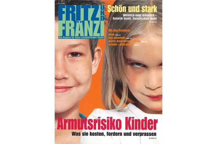 Als alles begannt: die erste Ausgabe von Fritz+Fränzi vor 16 Jahren.