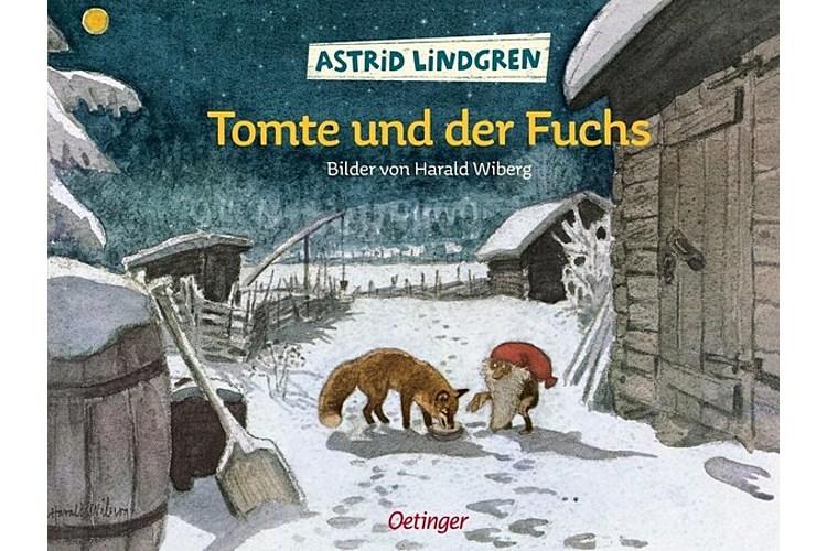 Astrid Lindgren: Tomte und der Fuchs. Oetinger Verlag, 1966. 32 Seiten, ca. 32 Seiten. Altersempfehlung: 4-6 Jahre