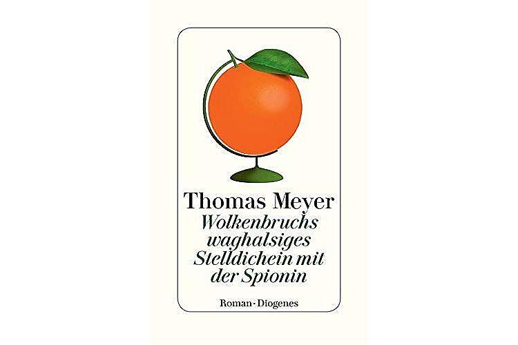 Thomas Meyer: Wolkenbruchs waghalsiges Stelldichein mit der Spionin. Diogenes, 2019. 288 Seiten, ca. 30 Fr.