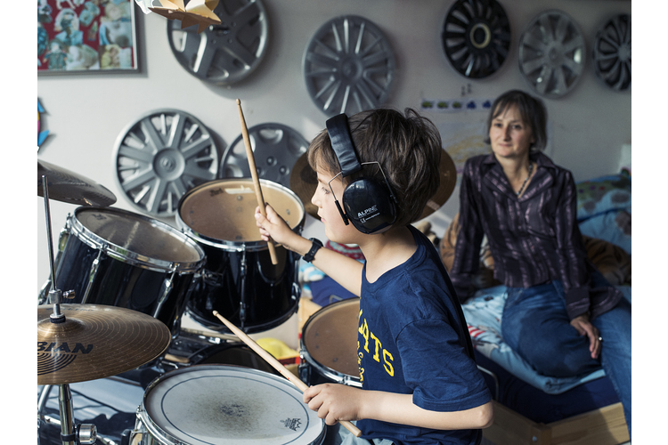 Manuela Krattiger: «Die Persönlichkeit meiner Kinder berührt mich oft».