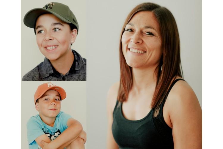 Was macht eine Mutter zur Leitwölfin? Marcelle Graf und ihre Söhne Ariseo (oben) und Nelio. Lesen Sie ihre Erzählung: «Wir leben Respekt und Toleranz vor»
