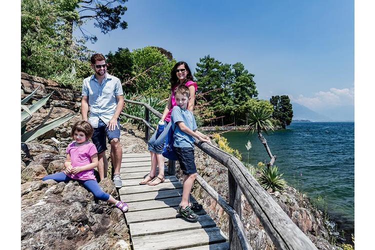 2/5 ... geht's auf eine abenteurliche Schatzsuche auf den Brissago Inseln ...