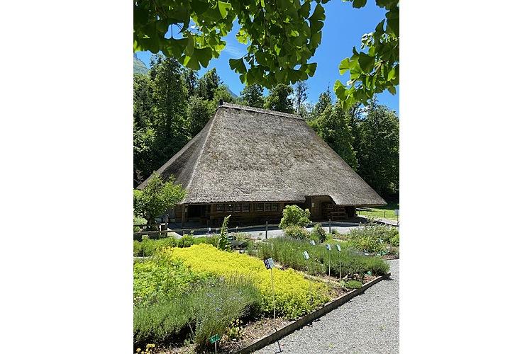 Kräuterlandschaft und historische Bauten (Bild: Dominique Binder, zVg)