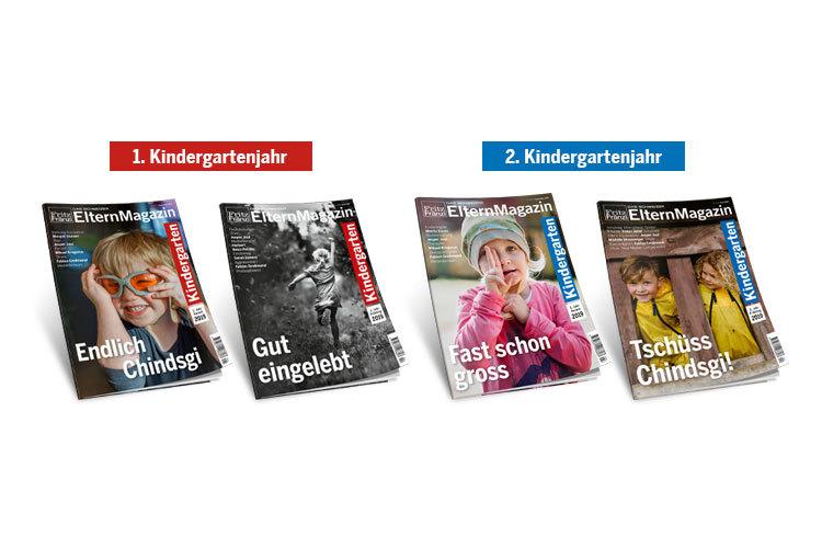 Die aktuellsten Hefte im Überblick: «Kindergarten 1. Jahr Herbst 2019 / Endlich Chindsgi» und «Kindergarten 2. Jahr Herbst 2019 / Fast schon gross» sind Ende August 2019 erschienen. Einzelnummernkönnen hier bestellt werden.