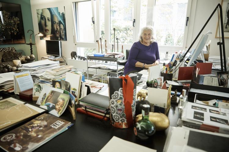 Das Gemeinwohl liegt ihr am Herzen: Ellen Ringier in ihrem Stiftungsbüro.