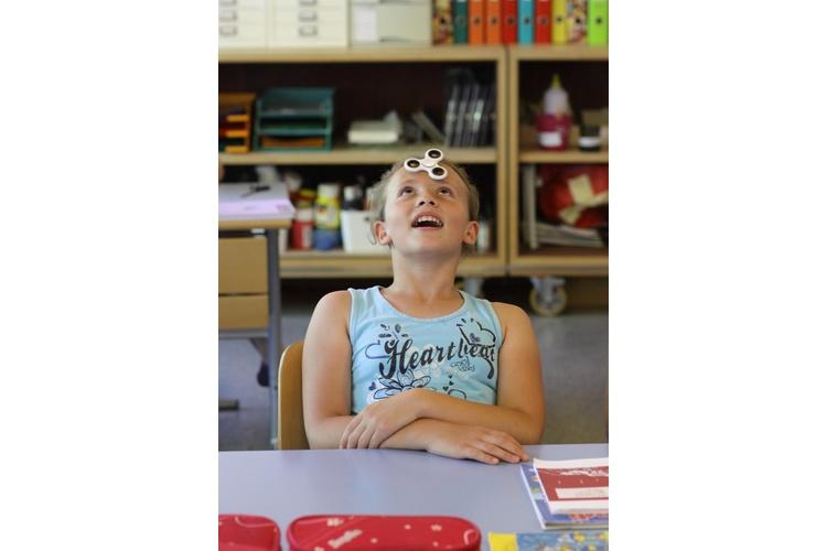 Zur Schule geht man gerne, wenn man verständnisvolle, geduldige, humorvolle Lehrpersonen hat.