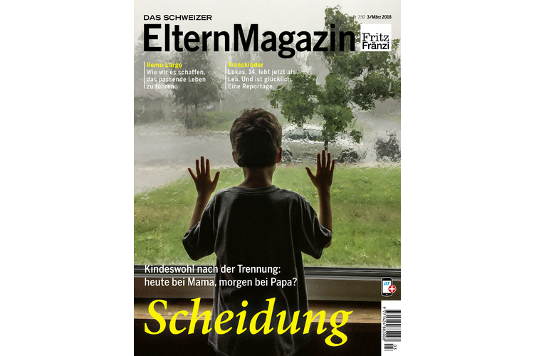 Dieses Interview ist Teil unseres grossen Dossiers in der März-Ausgabe 03/18 mit dem Thema SCHEIDUNG - Kindeswohl bei der Trennung der Eltern. Sie können das Magazin hier bestellen.