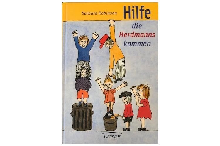 Barbara Robinson: Hilfe, die Herdmanns kommen. Oetinger 2016, 95 Seiten, Taschenbuch ca. 15 Fr.