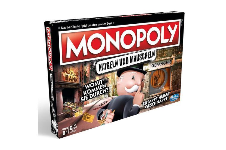 Monopoly Mogeln und Mauscheln, Hasbro, ca. 34 Franken