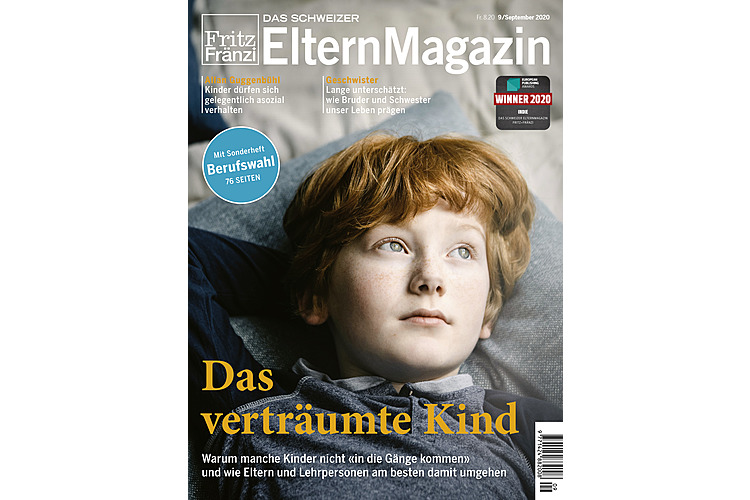 Platz 3Ausgabe 9: Das verträumte Kind (Lesen Sie hier das Online-Dossier zum Thema verträumte Kinder)
