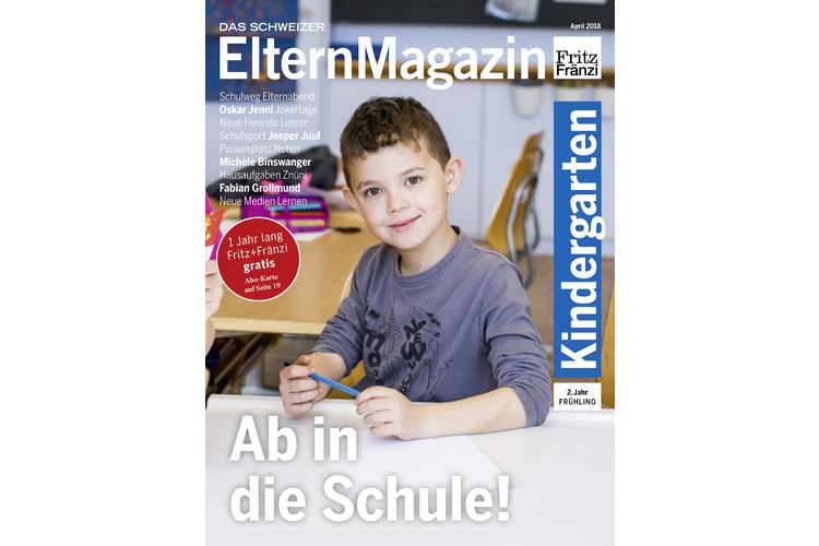 (2/2)Das «Kindergartenheft 2. Jahr/Frühling» mit dem Titel «Ab in die Schule» wendet sich an Eltern von Kindergartenschülern der zweiten Klasse. Bestellen Sie jetzt Ihr Exemplar.