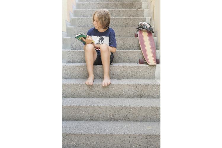 Enis, 11, geht gern zur Schule. Am liebsten mag er das Fach «Mensch und Umwelt».