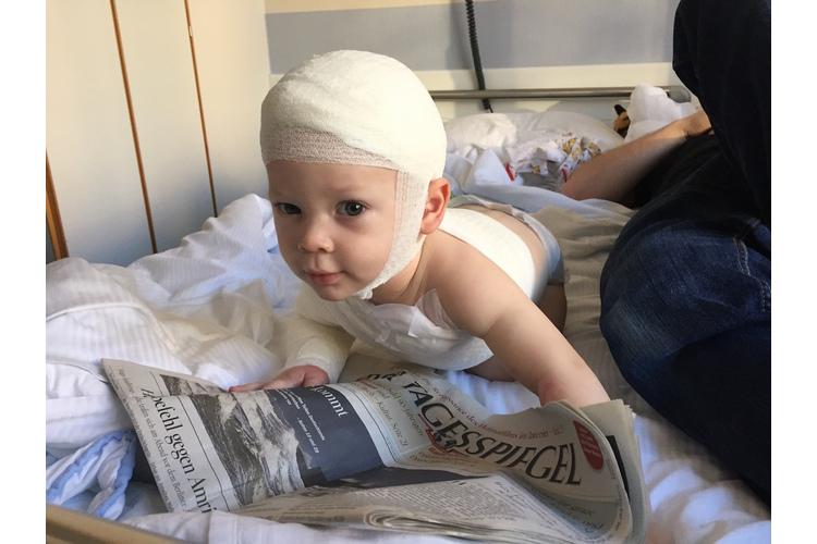 6. Januar 2017: Vier Tage nach der Transplantation darf Nelson nach Hause.