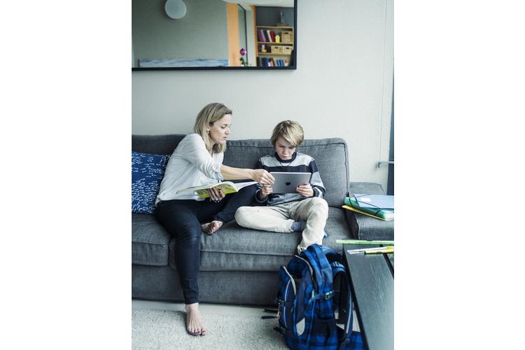 Astrid Mitchell: «Beim Thema Hausaufgaben kracht es immer wieder».