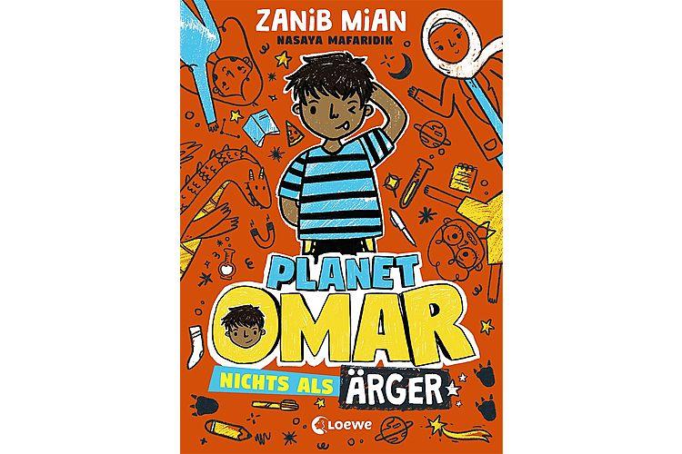 Zanib Mian: Planet Omar 1 - Nichts als Ärger. Loewe 2020, 224 Seiten, ca. 16 Fr.Ein ganz normaler Junge mit ganz normalen Problemen und zu viel Fantasie – das ist der humorvolle Auftakt einer Kinderbuchreihe für Kinder ab 8 Jahren.