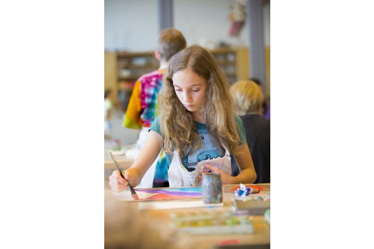 Kreativ: Die Familienmorgen im Creaviva/Zentrum Paul Klee in Bern