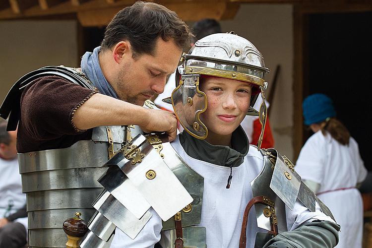 Römerspiele auf dem Legionärspfad Vindonissa