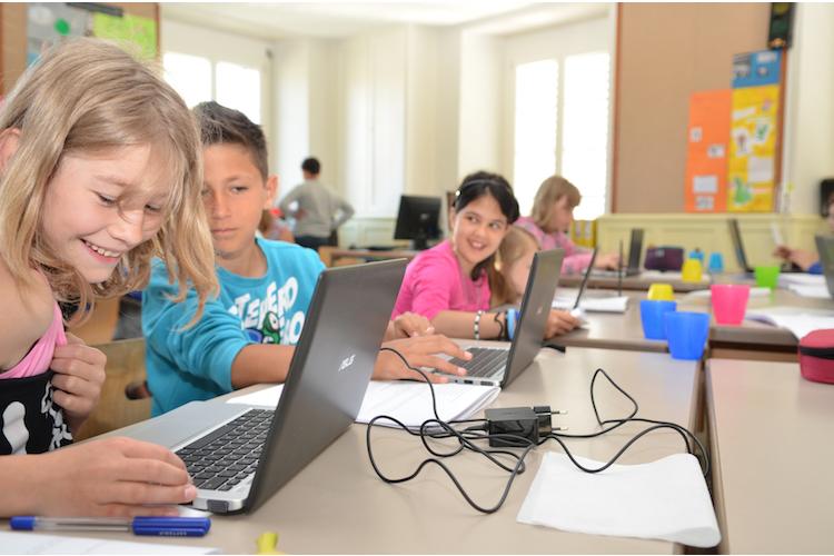 1 / 5 Das ETH-Projekt «Primalogo» führt Schülerinnen, Schüler und Lehrpersonen in die Welt der Informatik ein.