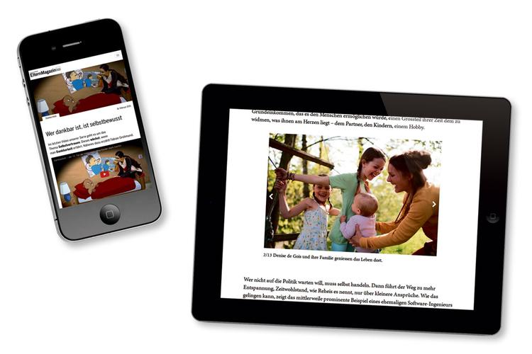 6/9 www.fritzundfraenzi.ch ist auch optimiert für den Lesegenuss auf mobilen Geräten wie Handys und Tablets.