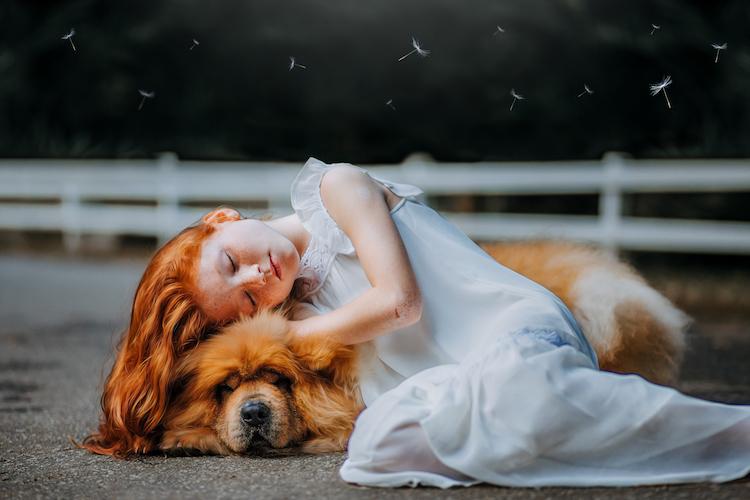 Ein Hund nimmt einen so, wie man ist – einer Kinder- und Teenagerseele tut diese bedingungslose Liebe besonders gut.
