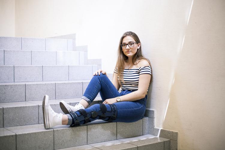 Jessica, 16, 3. Sek: «Das Thema Gewalt zu Hause sollte auch an anderen Schulen angesprochen werden. Es sollte an jeder Schule Peacemaker geben.»
