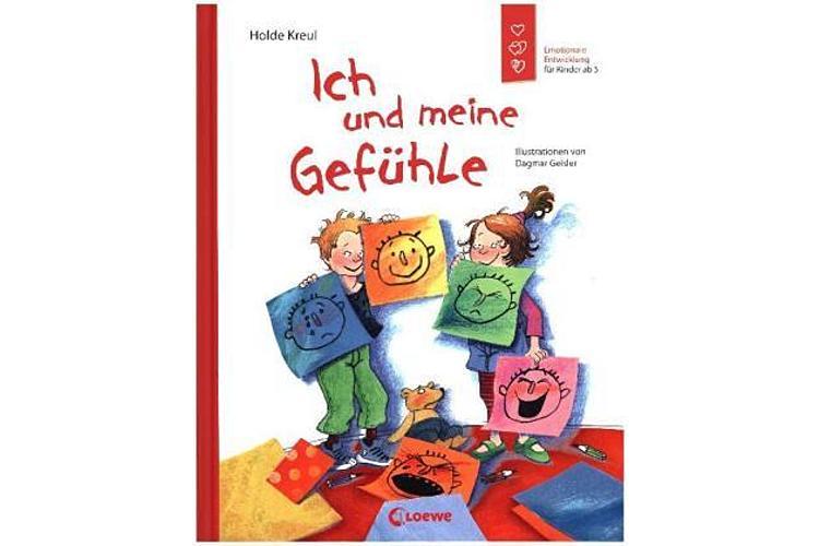 Holde Kreul: Ich und meine Gefühle. Emotionale Entwicklung für Kinder ab 5 Jahren. Loewe 2020, 36 Seiten, ca. 15 Fr. Über den Umgang mit den unterschiedlichsten Gefühlen von Kindern.