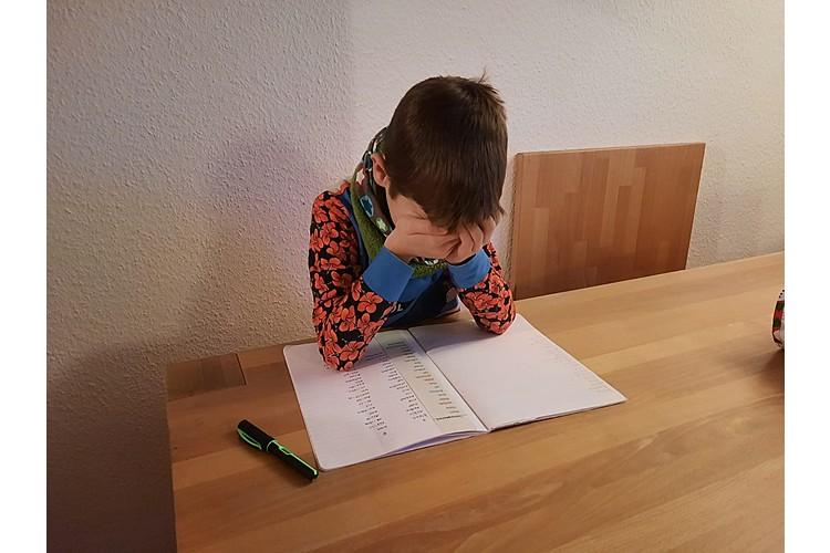 Oft machen sich Probleme erst mit gesteigerten Anforderungen in der Schule bemerkbar. (Bild: Anja Petri)
